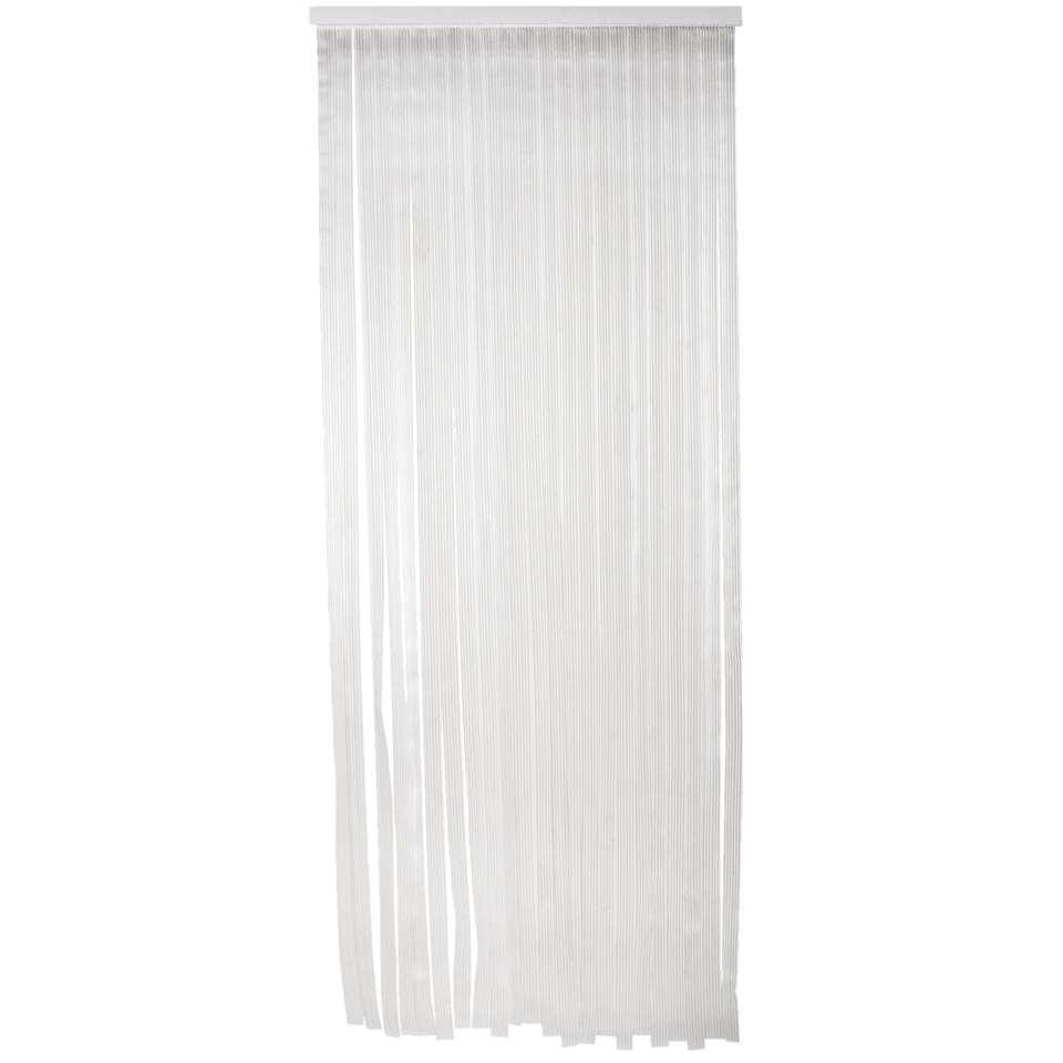 Deurgordijn Saba - transparant - 220x90 cm