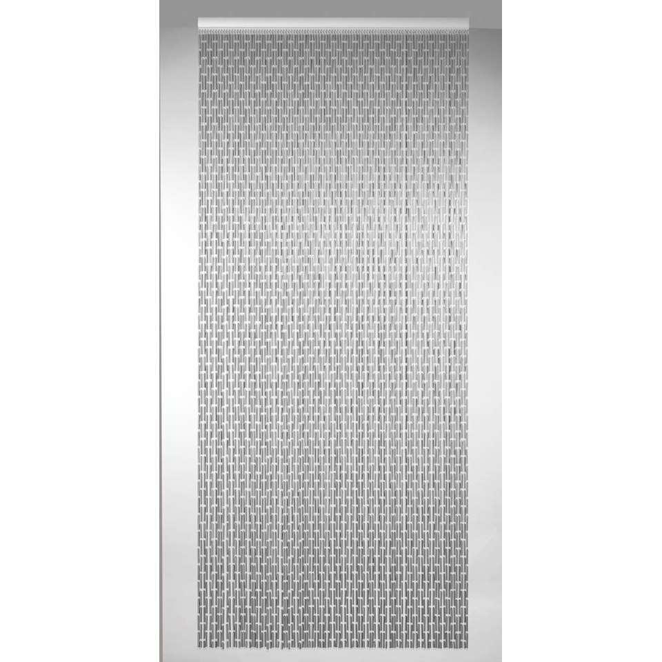 Deurgordijn Havana - grijs - 100x230 cm - Leen Bakker