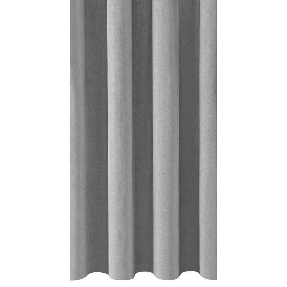 Inbetween Genua - lichtgrijs - 290 cm - Leen Bakker