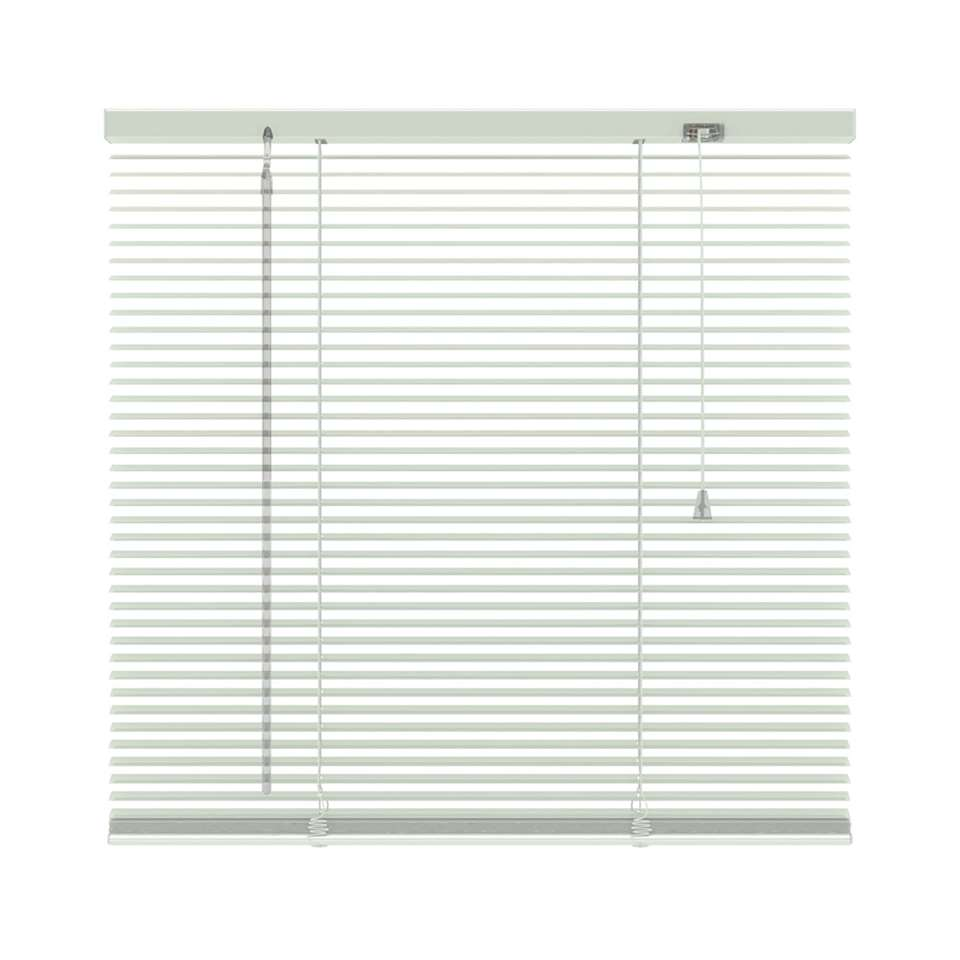 Horizontale jaloezie aluminium 16 mm - wit - 60x180 cm - Leen Bakker