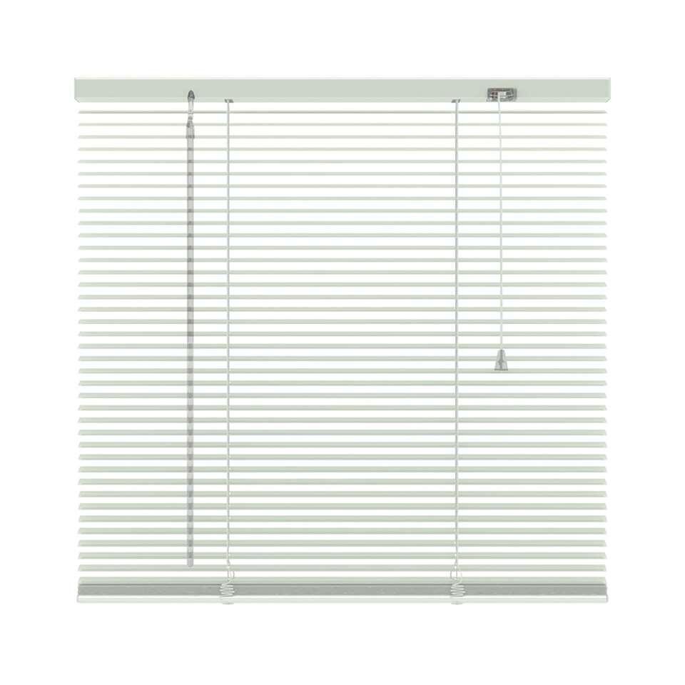 Horizontale jaloezie aluminium 16 mm - wit - 80x250 cm - Leen Bakker