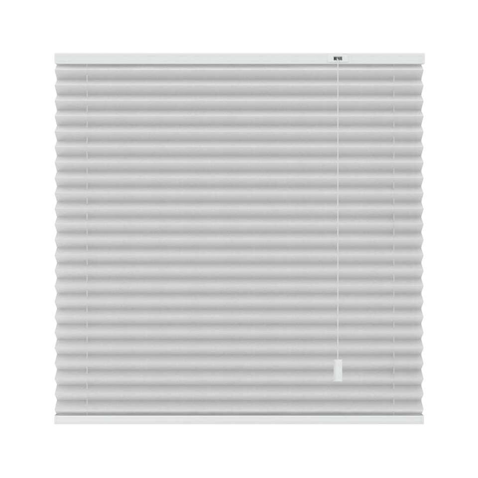 Basic plisségordijn lichtdoorlatend - wit - 140x180 cm - Leen Bakker