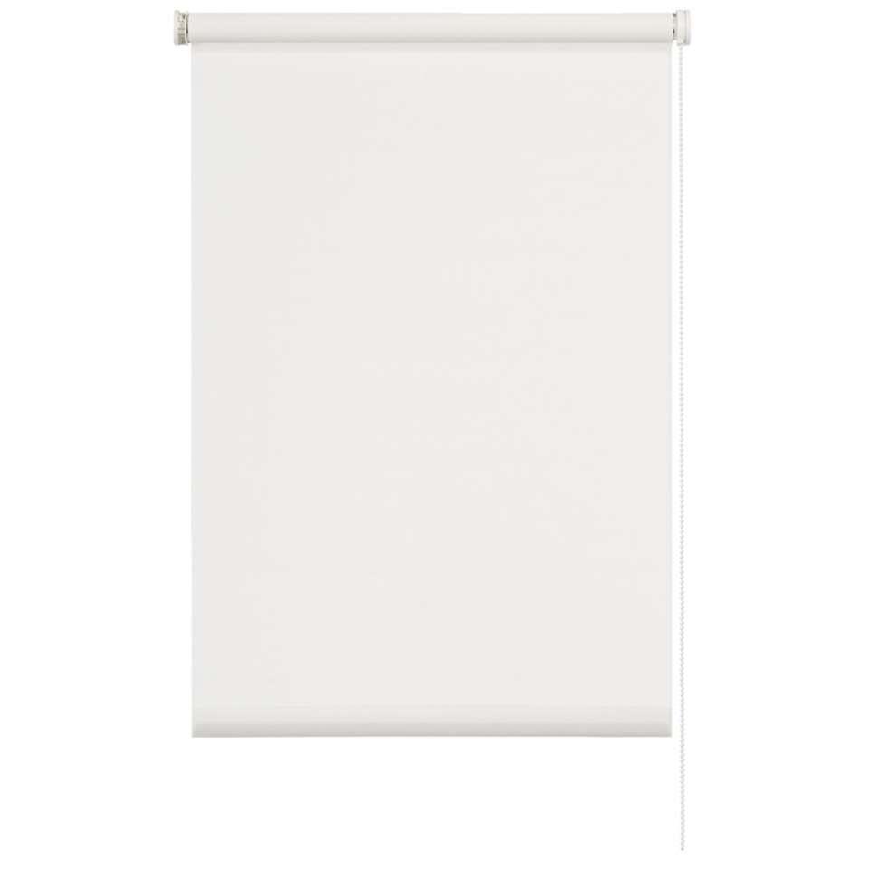 Rolgordijn lichtdoorlatend - wit - 60x190 cm - Leen Bakker