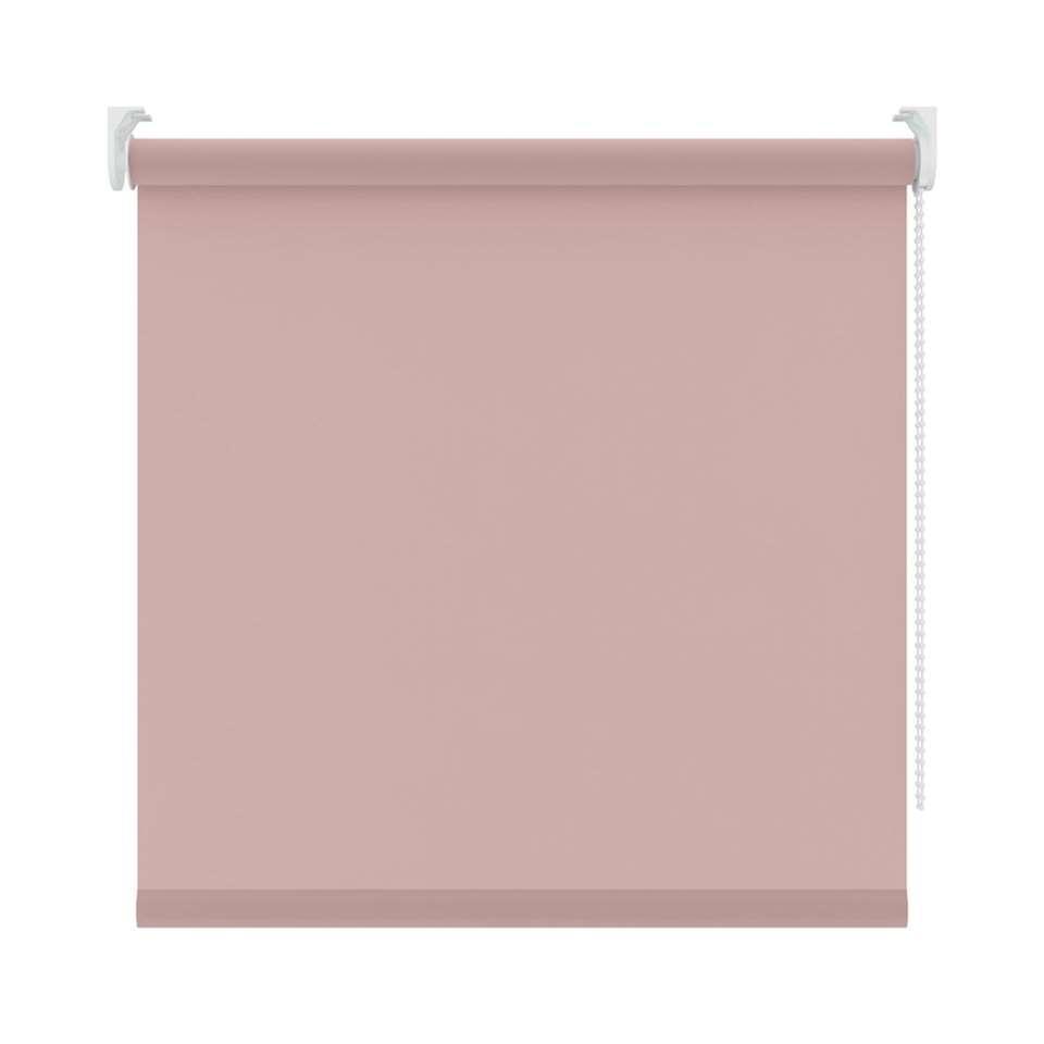 Rolgordijn lichtdoorlatend - lichtroze - 180x190 cm - Leen Bakker