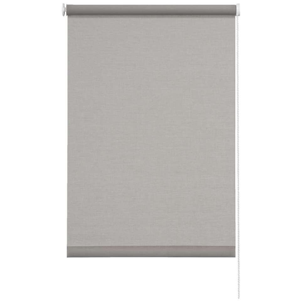 Rolgordijn lichtdoorlatend - licht grijs - 60x190 cm
