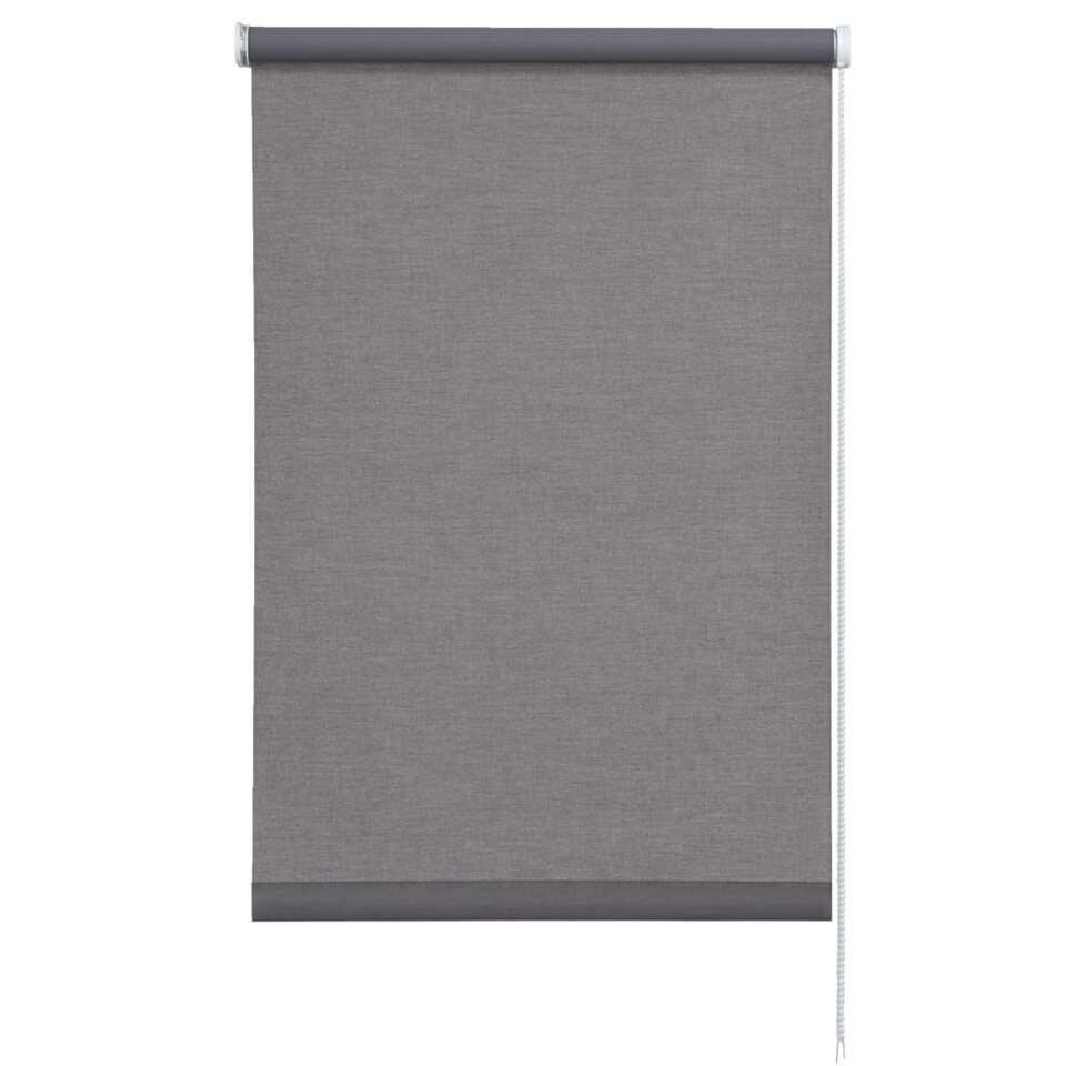 Rolgordijn lichtdoorlatend – antraciet – 60×190 cm – Leen Bakker