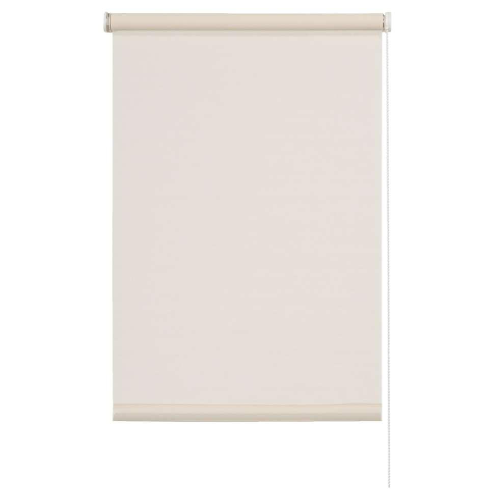 Rolgordijn lichtdoorlatend - beige - 60x190 cm