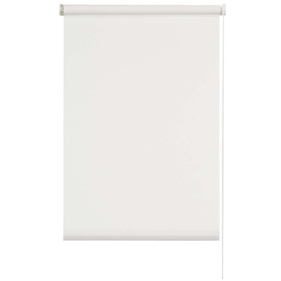 Rolgordijn lichtdoorlatend - transparant wit - 60x190 cm - Leen Bakker