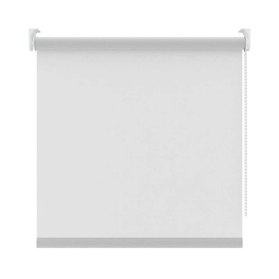Rolgordijn lichtdoorlatend - transparant wit - 90x190 cm