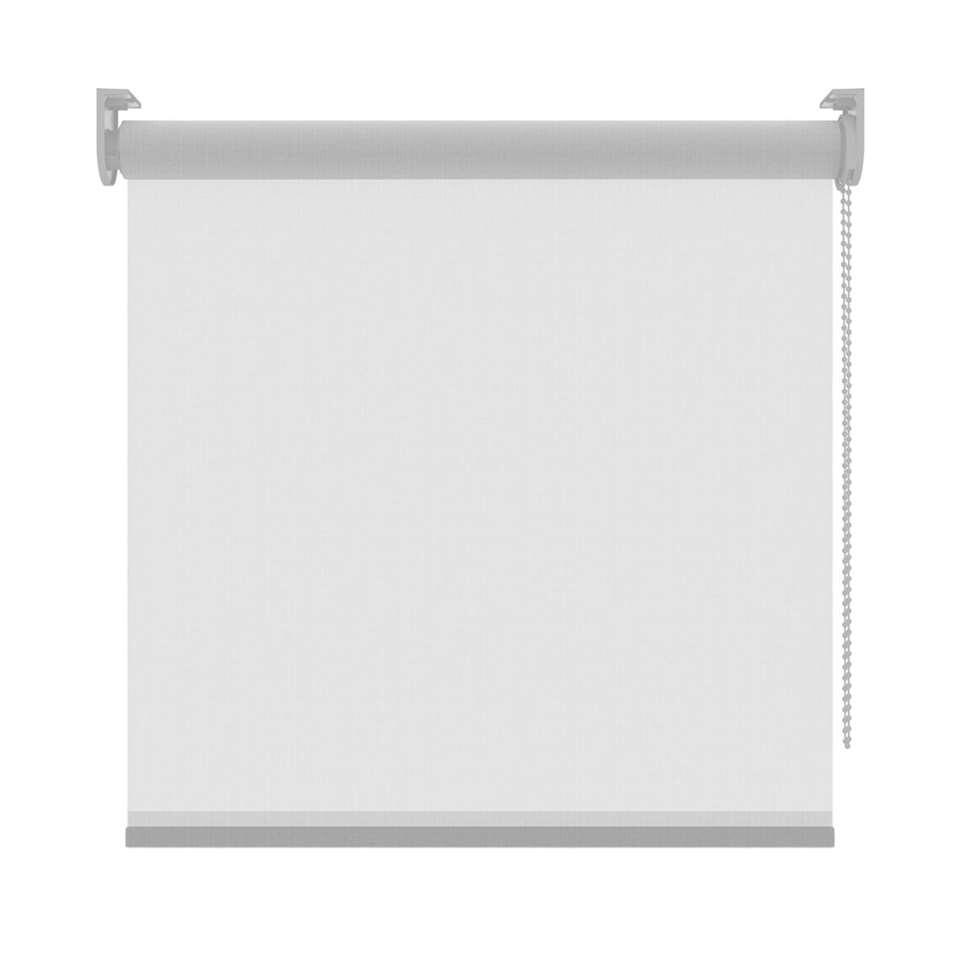 Rolgordijn lichtdoorlatend - wit - 240x190 cm