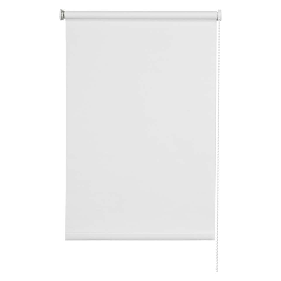 Basic rolgordijn lichtdoorlatend - wit - 60x160 cm - Leen Bakker