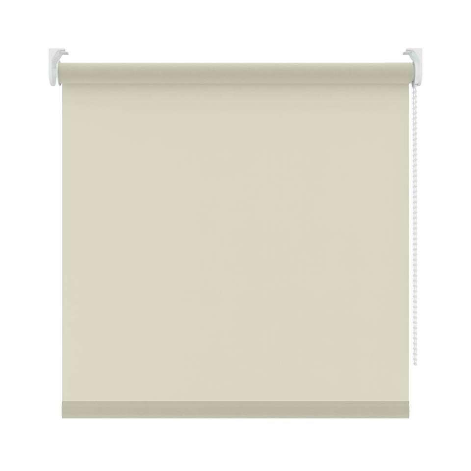 Basic rolgordijn lichtdoorlatend - wit - 120x160 cm - Leen Bakker