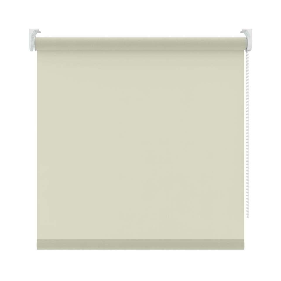 Basic rolgordijn lichtdoorlatend - wit - 150x160 cm