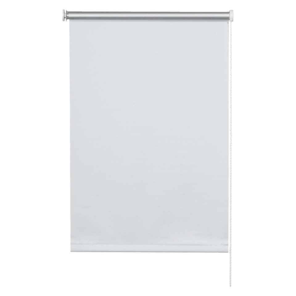 Basic rolgordijn verduisterend - wit - 150x160 cm - Leen Bakker