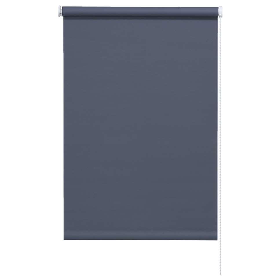 Rolgordijn verduisterend - antraciet - 60x190 cm