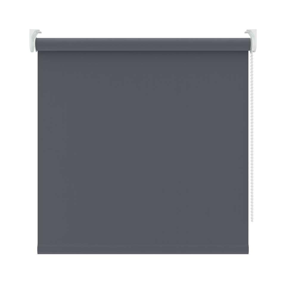 Rolgordijn verduisterend - antraciet - 120x250 cm - Leen Bakker