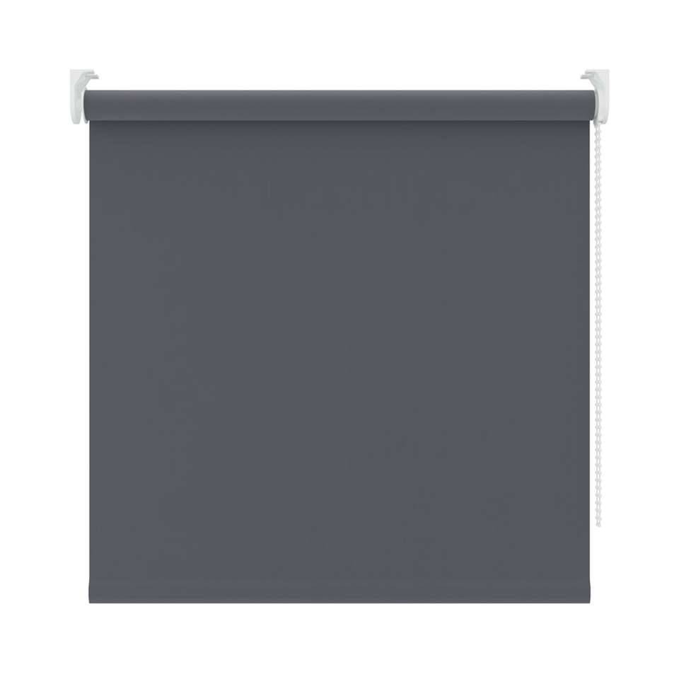 Rolgordijn verduisterend - antraciet - 210x190 cm