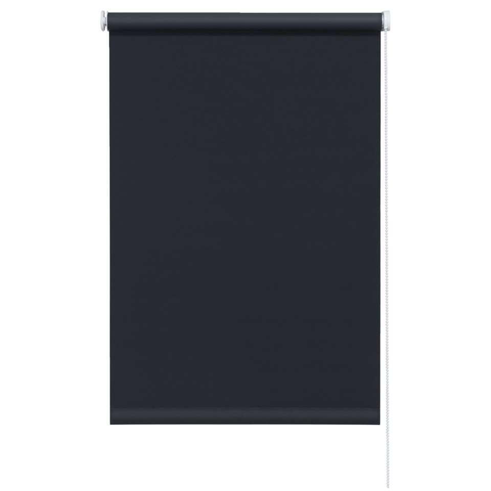 Rolgordijn verduisterend - zwart - 60x190 cm