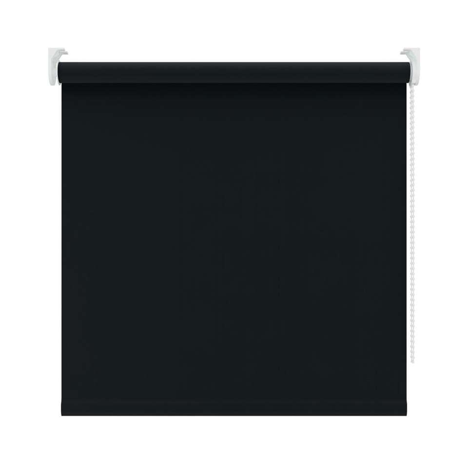 Rolgordijn verduisterend - zwart - 210x190 cm