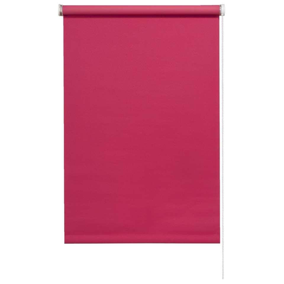 Rolgordijn verduisterend - roze - 60x190 cm