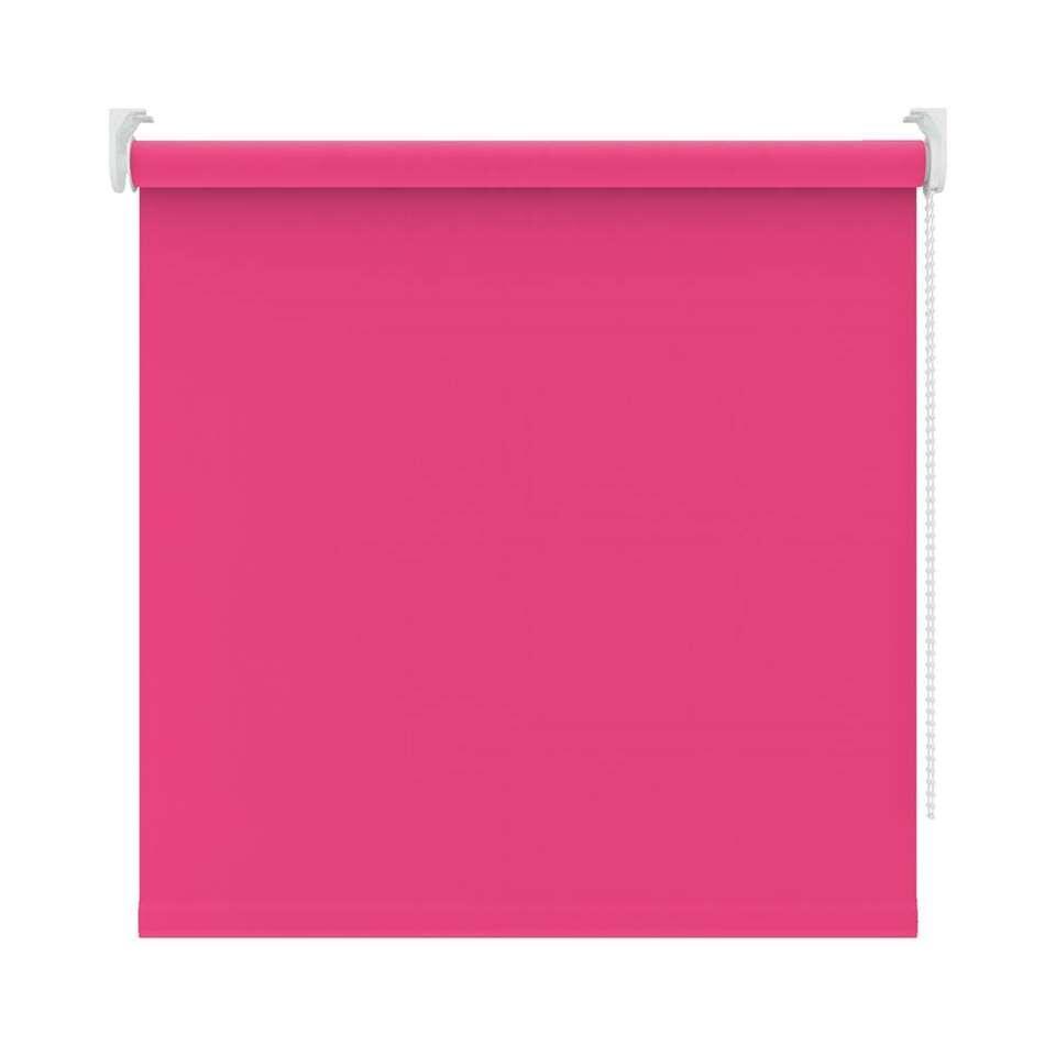 Rolgordijn verduisterend - roze - 120x190 cm