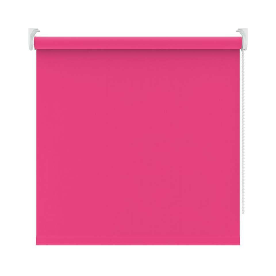 Rolgordijn verduisterend – roze – 210×190 cm – Leen Bakker