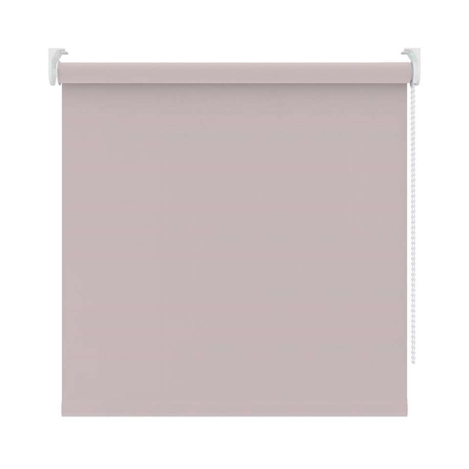 Rolgordijn verduisterend - poederroze - 120x190 cm