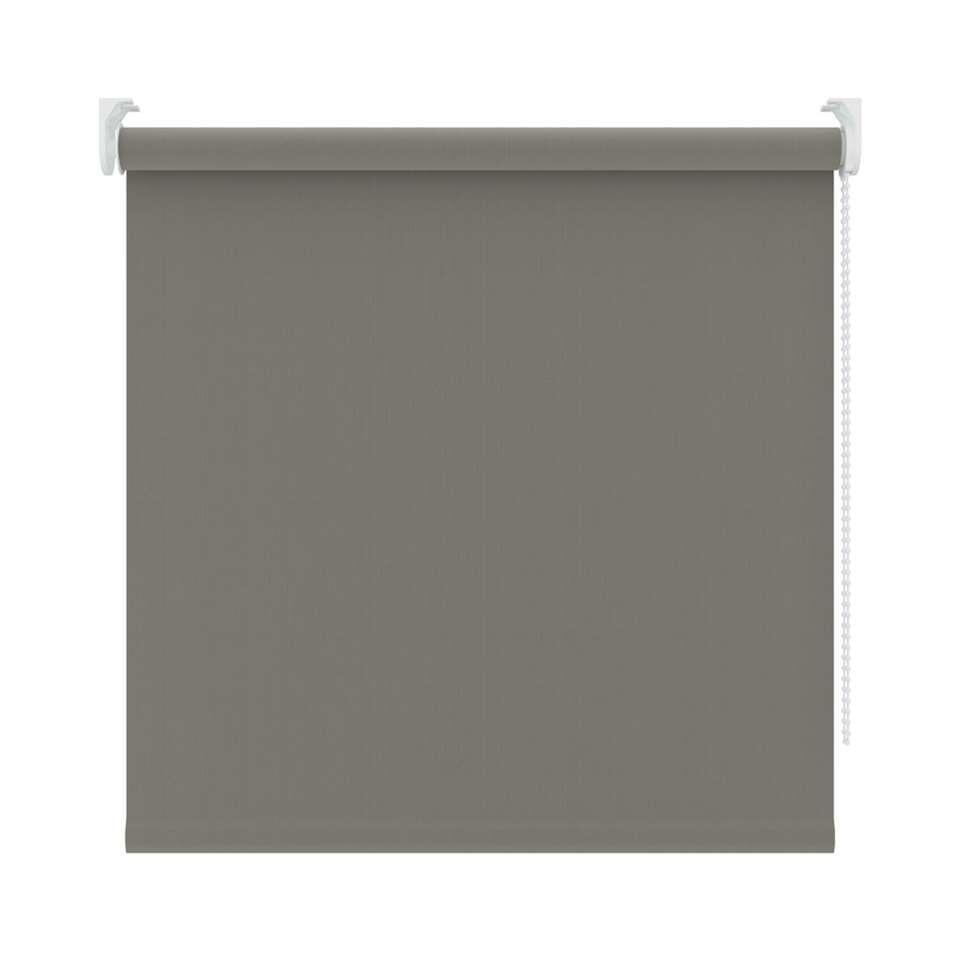Rolgordijn verduisterend - warm grijs - 90x190 cm