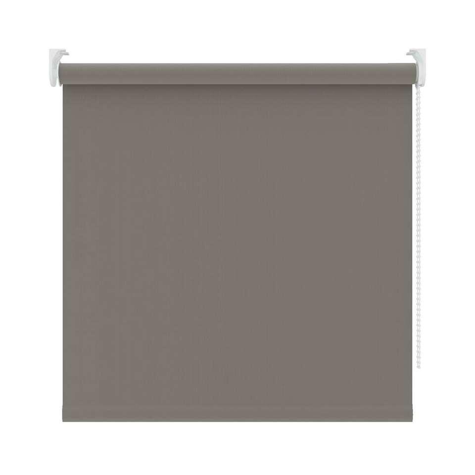 Rolgordijn verduisterend - warm grijs - 120x190 cm