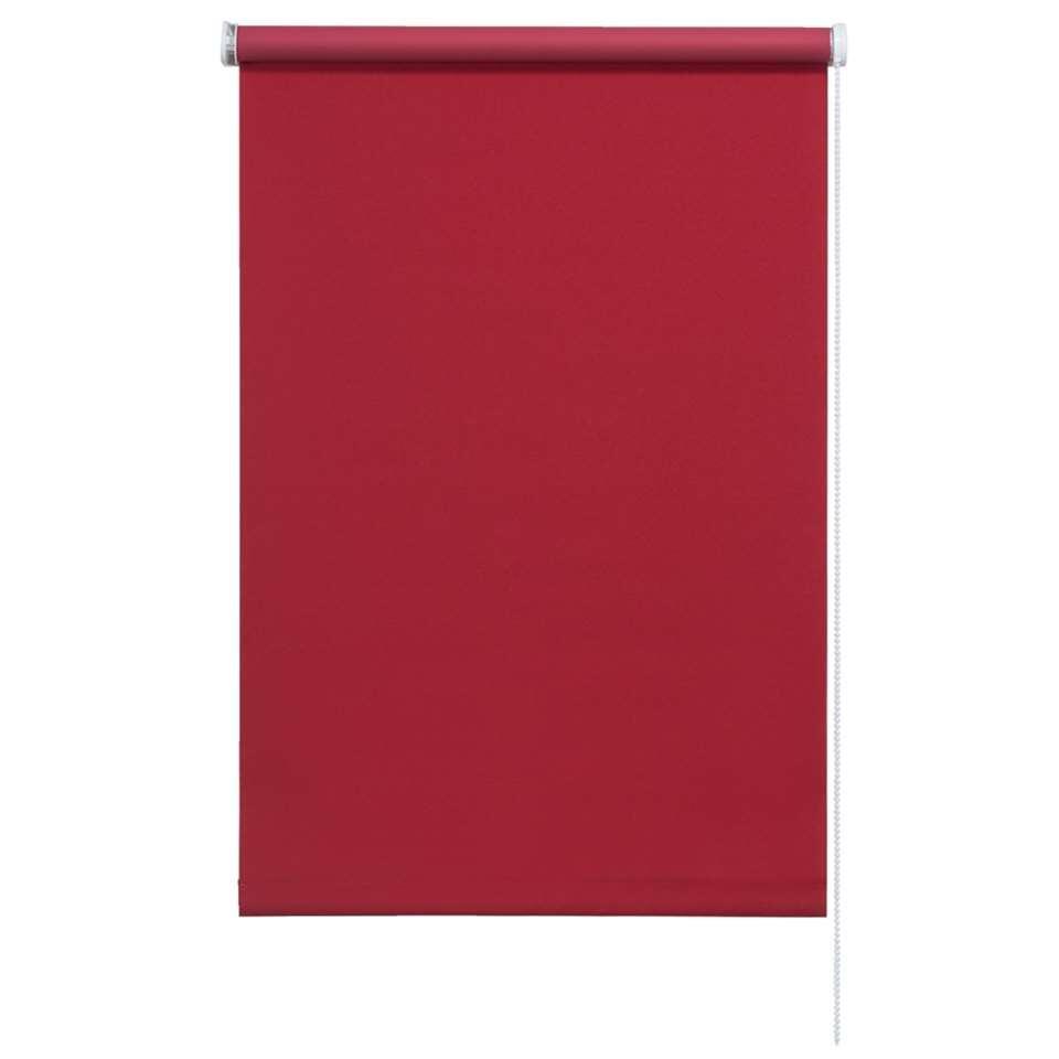 Rolgordijn verduisterend - chilirood - 60x190 cm