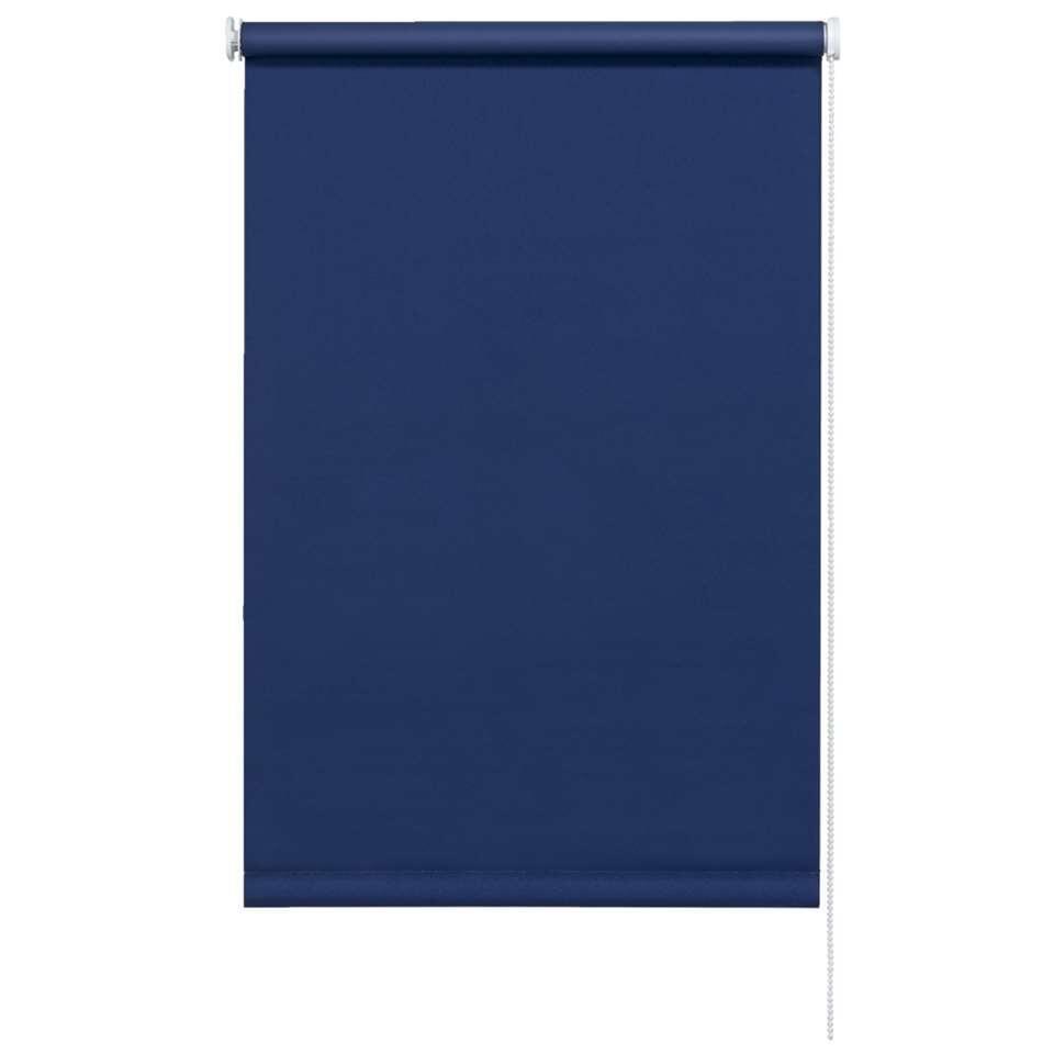 Rolgordijn verduisterend – blauw – 60×190 cm – Leen Bakker