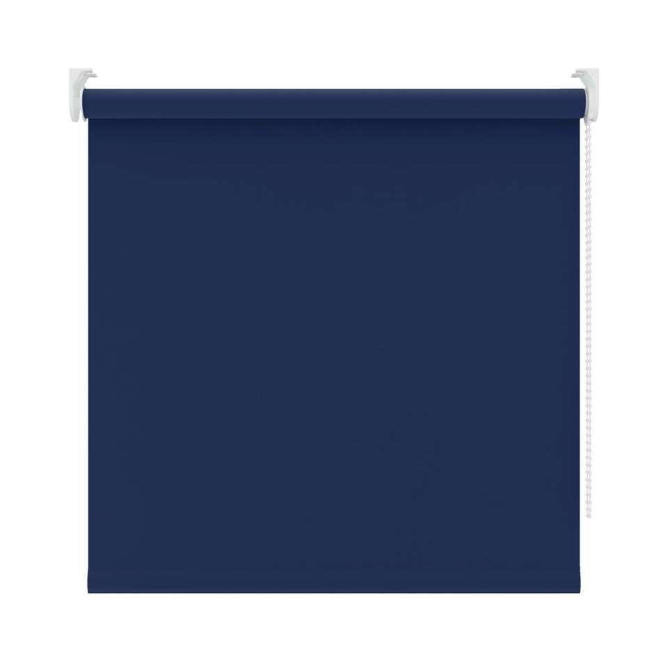 Rolgordijn verduisterend - blauw - 120x190 cm