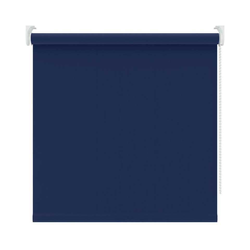 Rolgordijn verduisterend - blauw - 180x190 cm - Leen Bakker