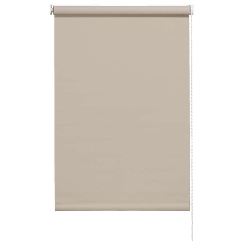 Rolgordijn verduisterend - zand - 60x190 cm