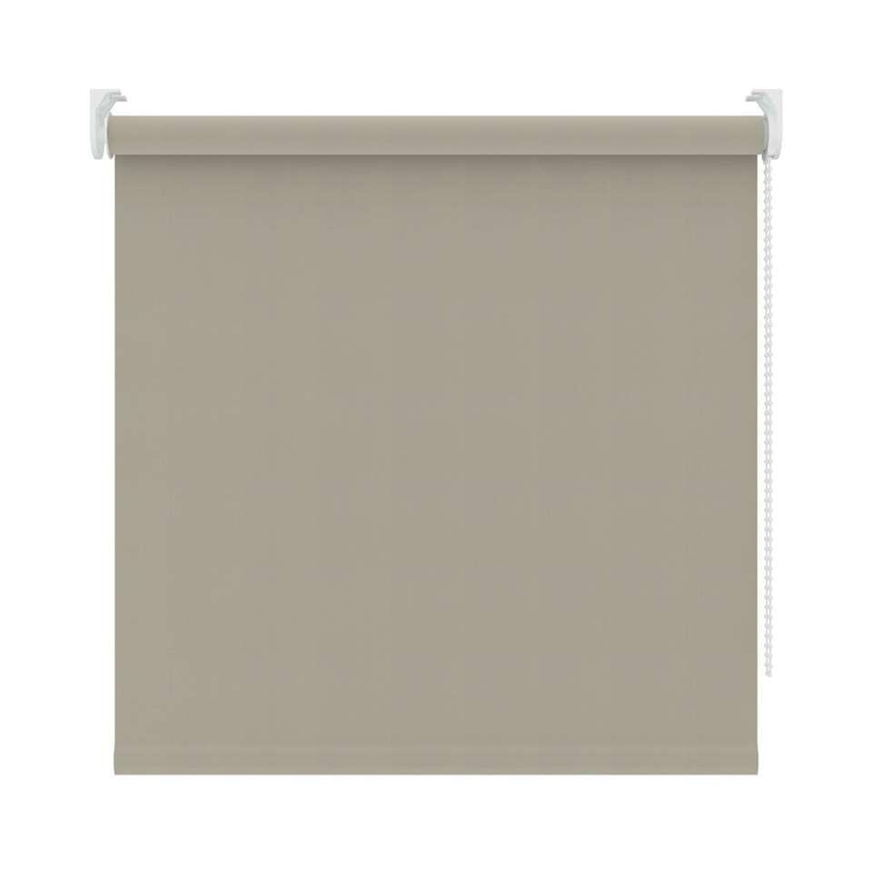Rolgordijn verduisterend - zand - 90x190 cm