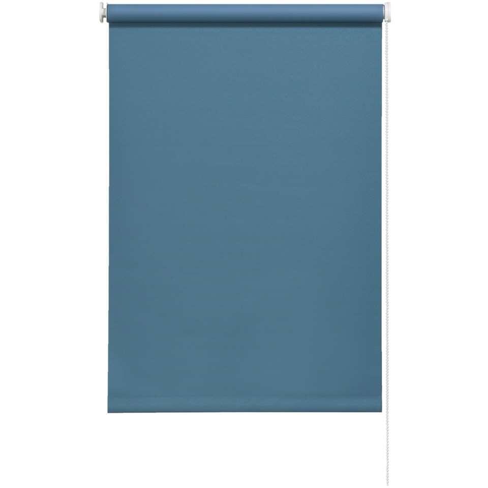 Rolgordijn verduisterend – turquoise – 60×190 cm – Leen Bakker