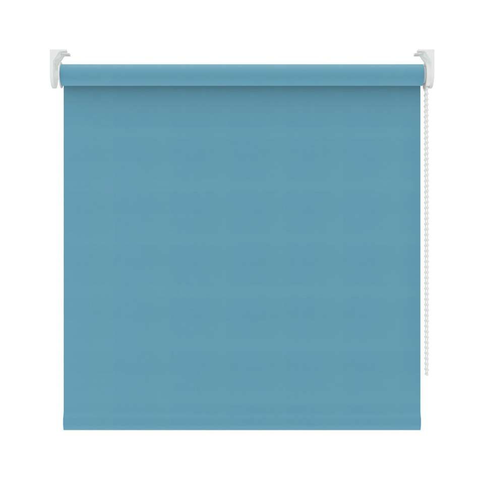 Rolgordijn verduisterend - turquoise - 90x190 cm