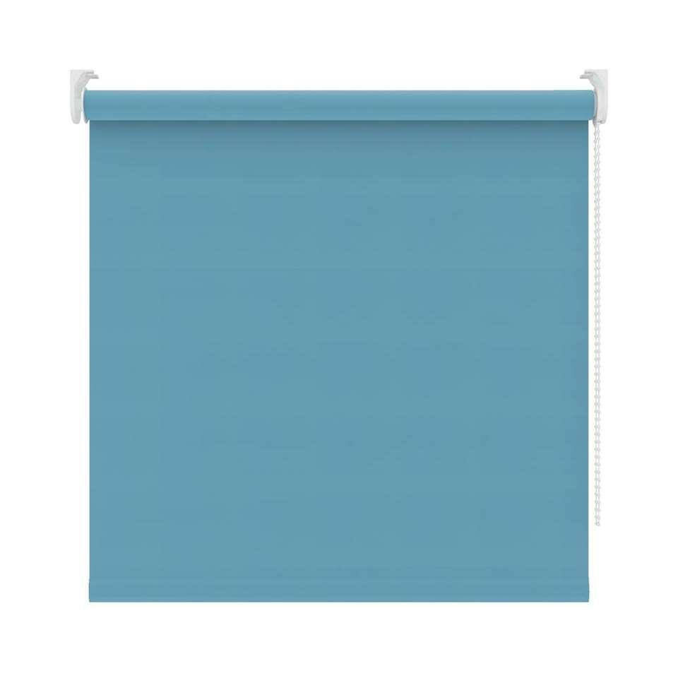 Rolgordijn verduisterend - turquoise - 120x190 cm