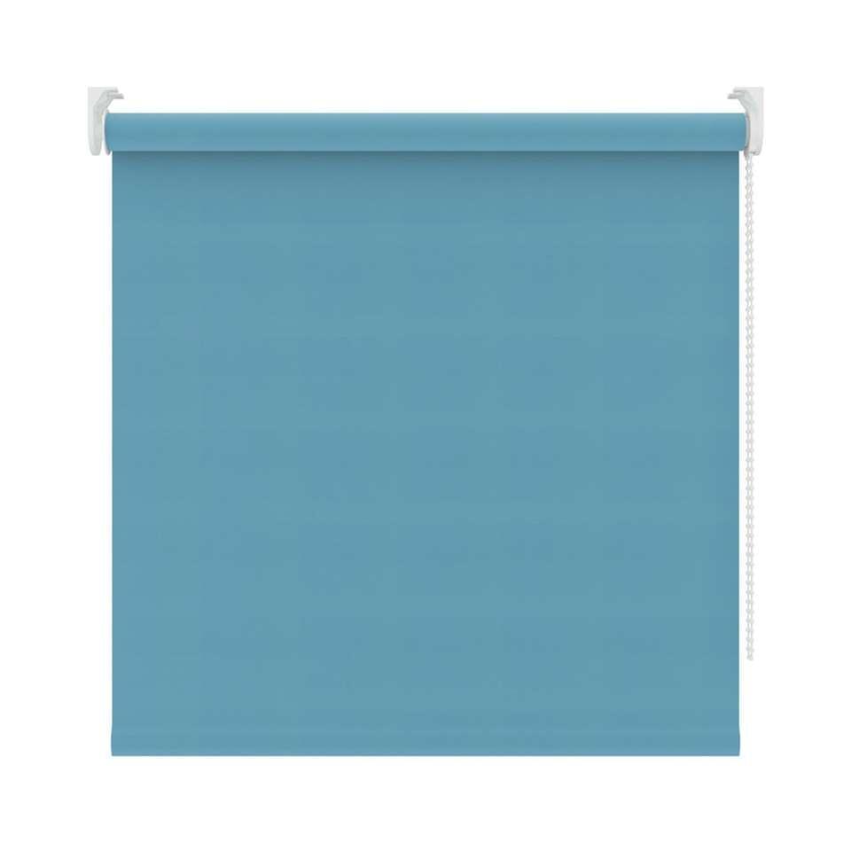 Rolgordijn verduisterend - turquoise - 150x190 cm