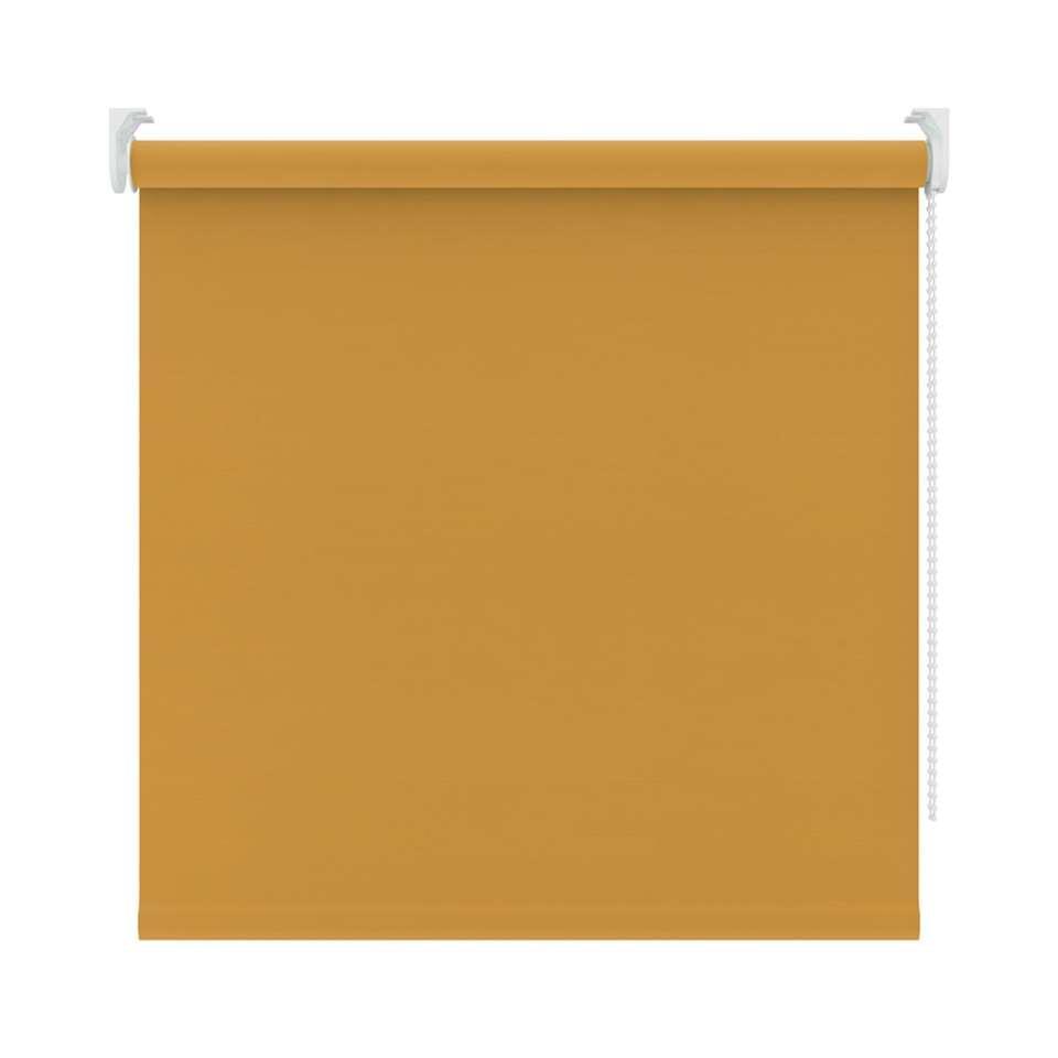 Rolgordijn verduisterend – okergeel – 60×190 cm – Leen Bakker
