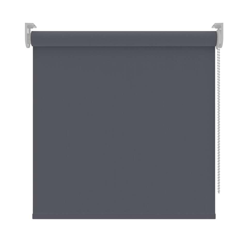 Rolgordijn verduisterend - antraciet - 240x190 cm