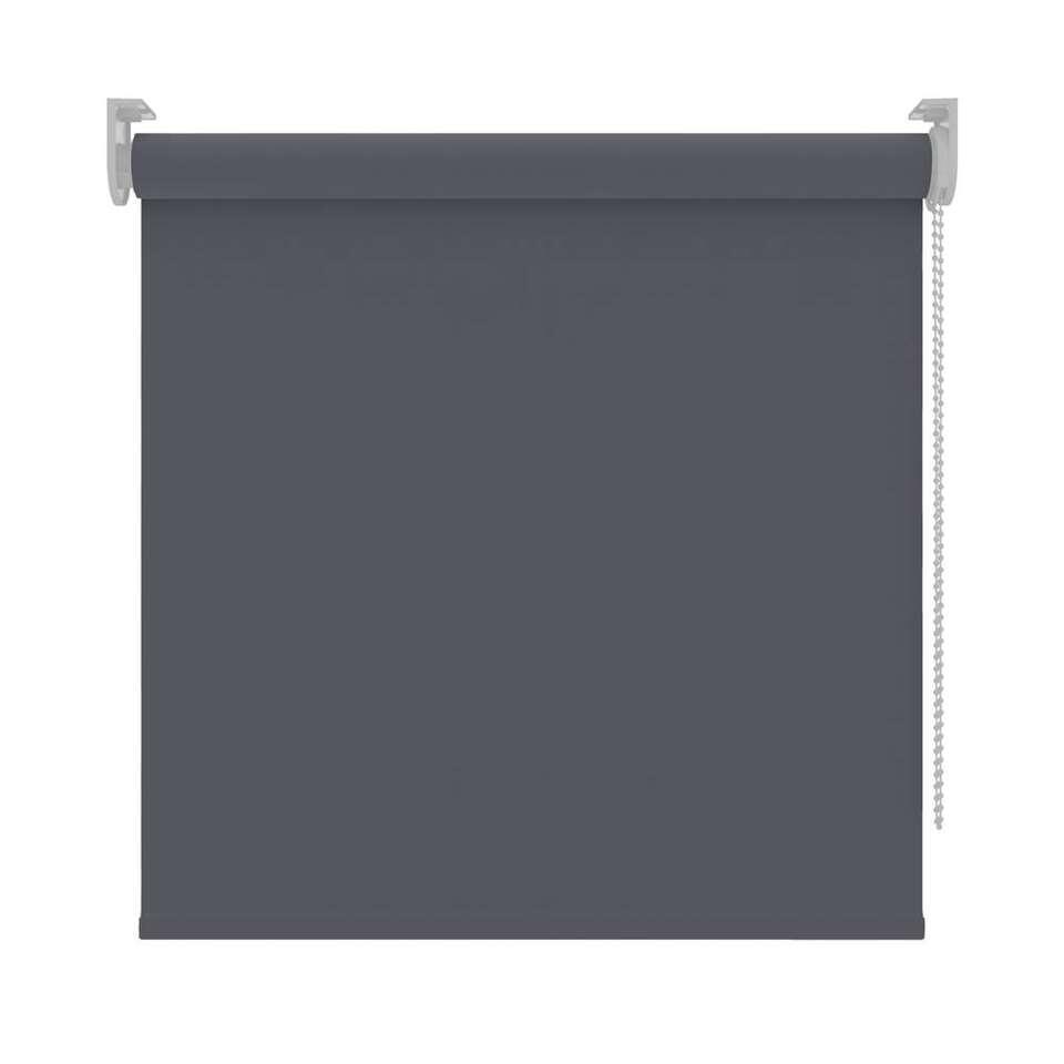 Rolgordijn verduisterend - antraciet - 270x190 cm