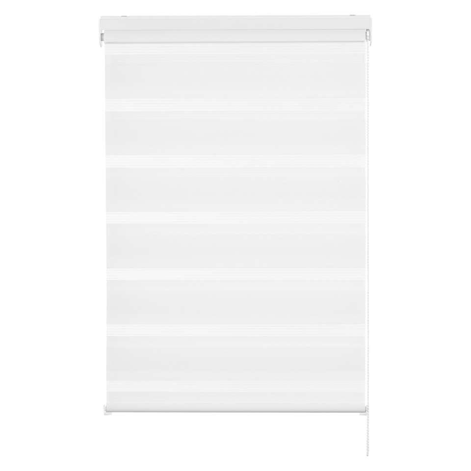 Basic roljaloezie lichtdoorlatend - wit - 60x160 cm - Leen Bakker