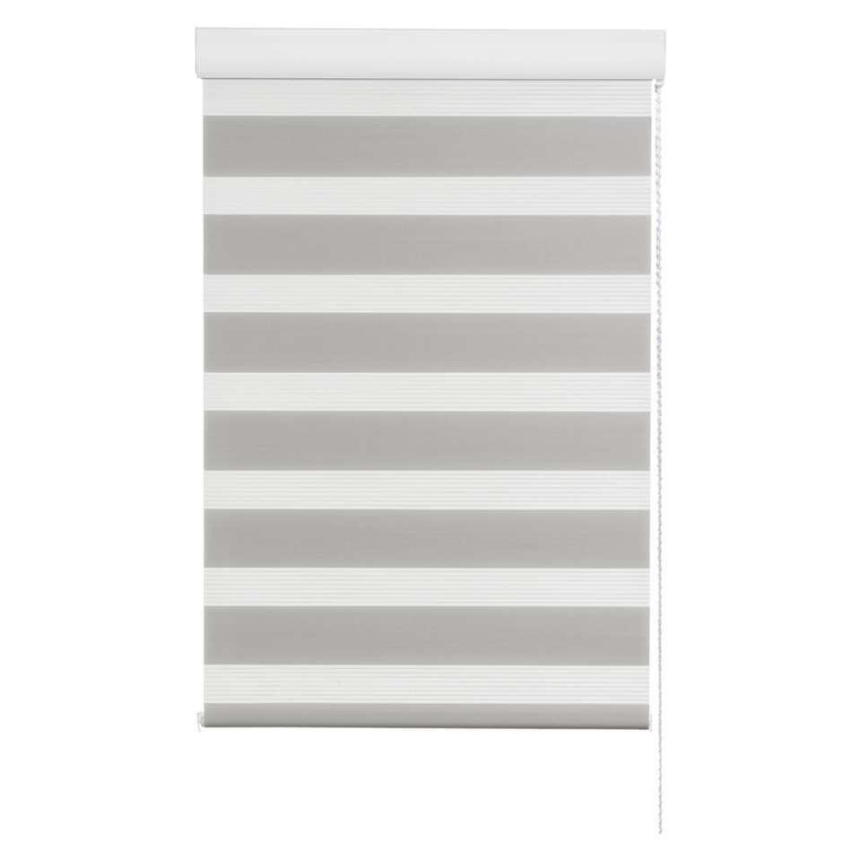 Roljaloezie lichtdoorlatend - grijs - 120x210 cm - Leen Bakker