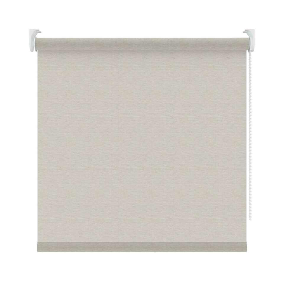 Rolgordijn lichtdoorlatend dessin - beige - 120x190 cm