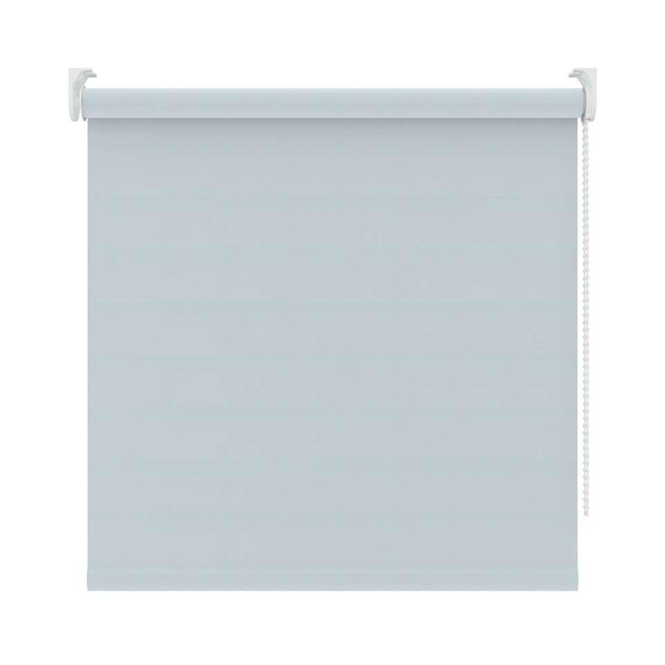 Rolgordijn lichtdoorlatend Diamand - lichtblauw - 210x190 cm - Leen Bakker