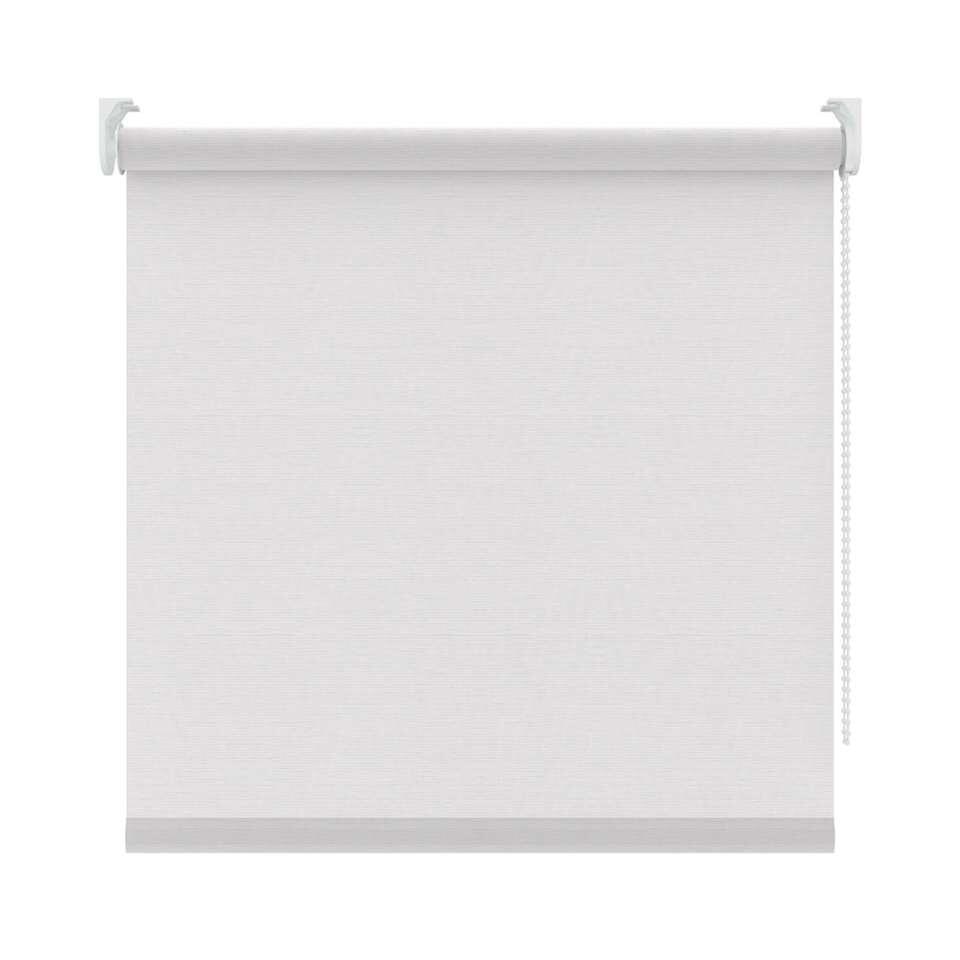 Rolgordijn lichtdoorlatend dessin – wit – 180×190 cm – Leen Bakker