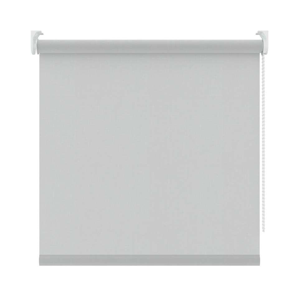 Rolgordijn lichtdoorlatend screenstof - grijs - 90x190 cm - Leen Bakker