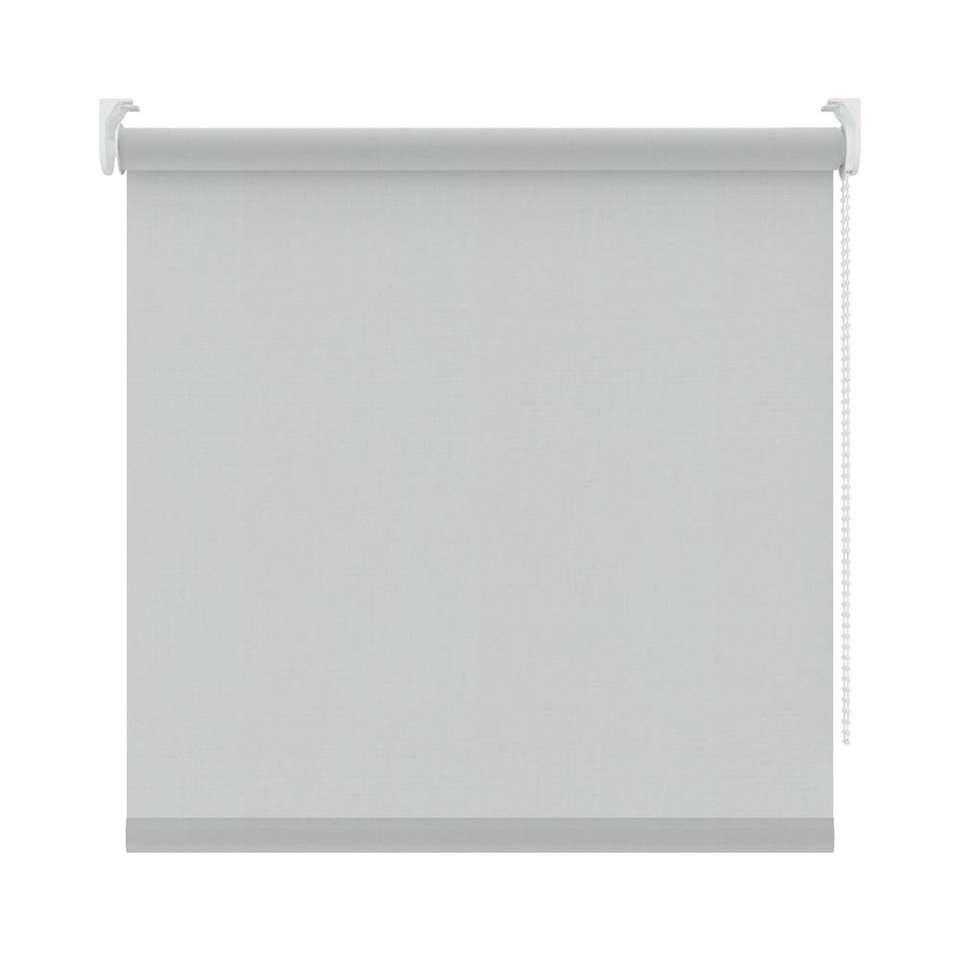 Rolgordijn lichtdoorlatend screenstof - grijs - 120x190 cm - Leen Bakker