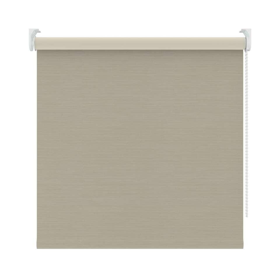 Rolgordijn verduisterend - beige - 210x190 cm